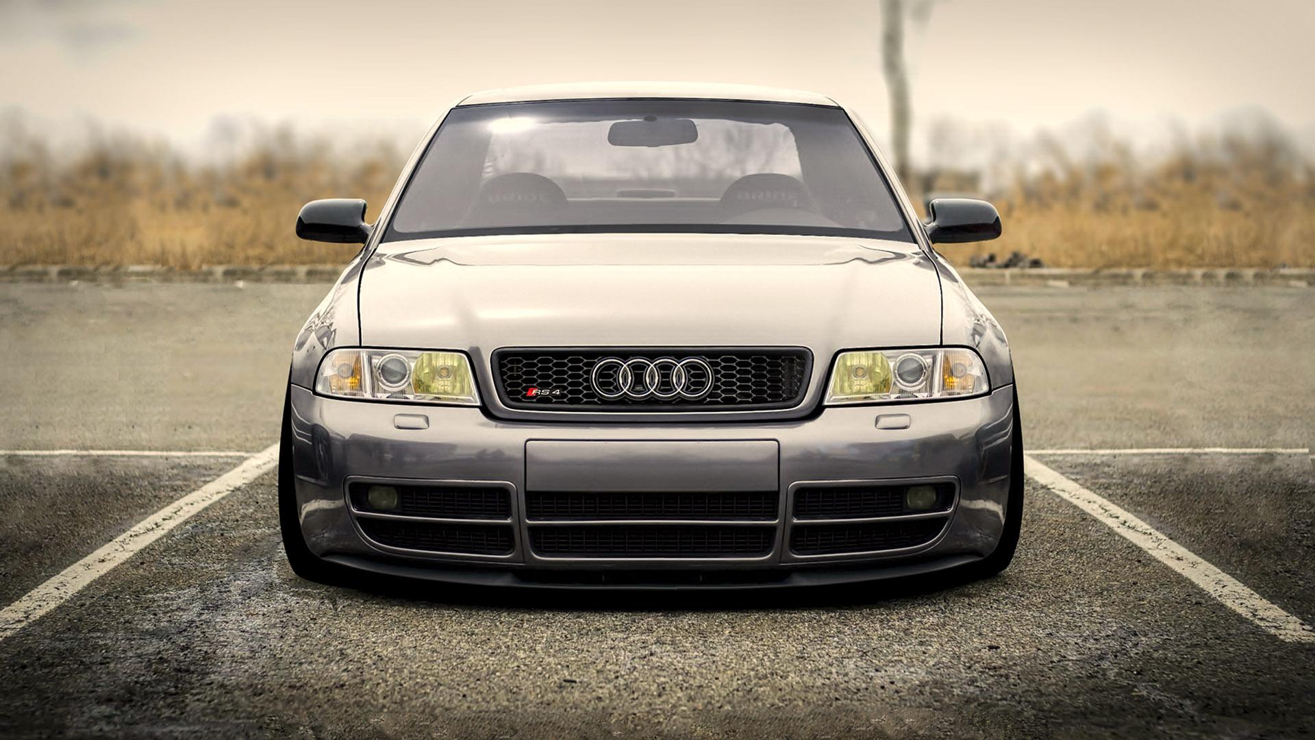 Audi RS4 без регистрации